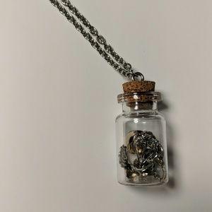 The Walking Dead Charm Bottle Necklace